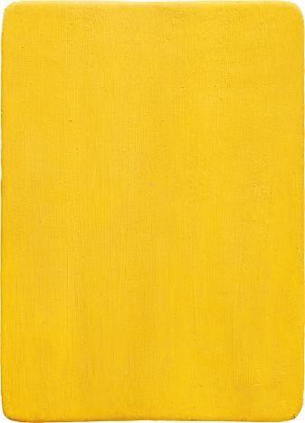 Untitled Yellow Monochrome - Yves Klein, 1956