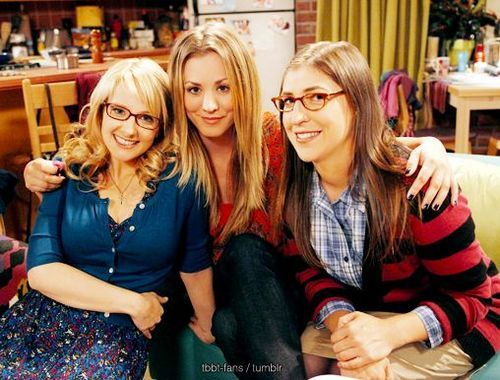 Image result for the big bang theory girls