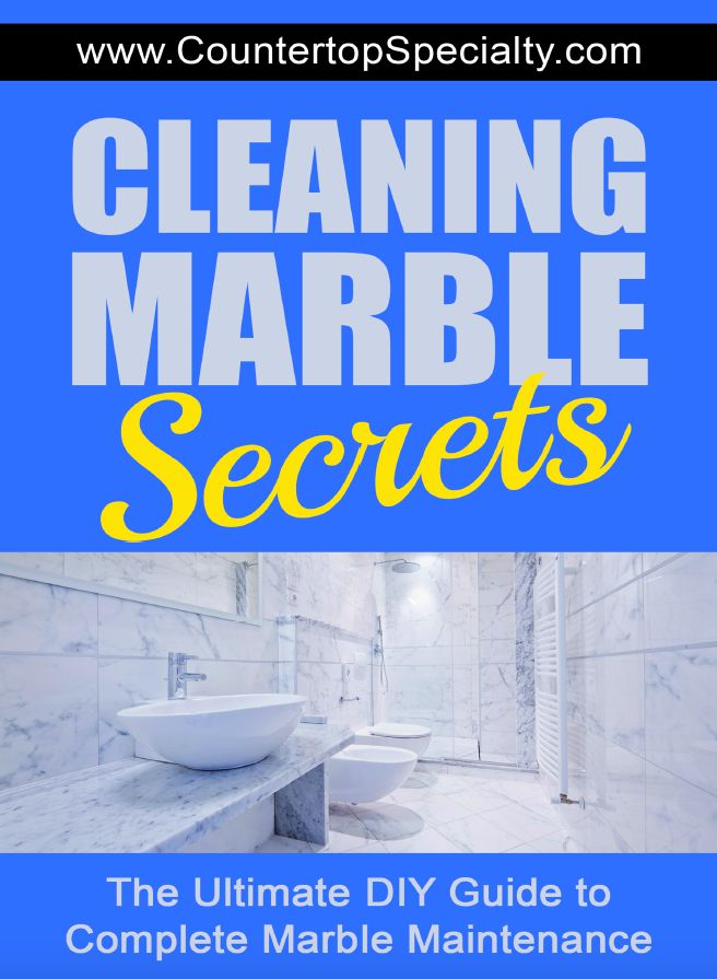 how to take stains out of marble