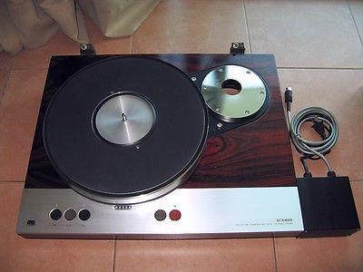 Luxman PD-310 Turntable Belt Drive Turntable w/ Custom Made PSU 230V 115V