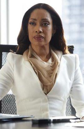 Love the structured blazer, darker silk! Jessica Pearson, Suits (TV show)