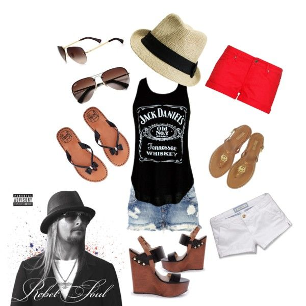 Kid Rock Outdoor Concert Outfit Country Concert Outfit