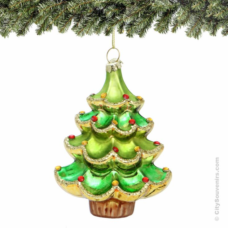 christmas tree glass ornament - Glass Christmas Tree With Lights
