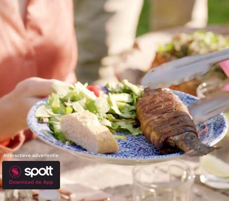 Het recept voor deze heerlijke gevulde forel omwikkeld met spek is perfect in de zomer!