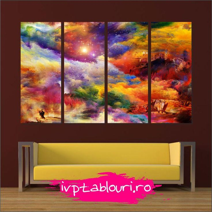 Tablou multicanvas abstract ABS404 | Tablouri canvas | Fototapet personalizat | Tablouri personalizate
