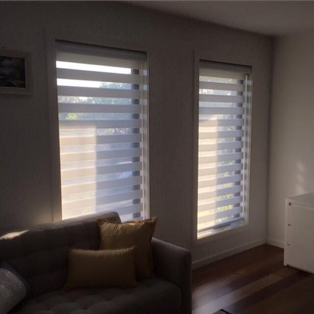 Zebra blinds are versatile in both light and privacy. They alternate between a filtered and block out fabric which allows you to create the perfect ambiance in any room. Need a budget quote?  Call or visit our Melbourne based showroom or email us via sales@aspirehomeinspiration.com.au  Follow our Facebook page www.facebook.com/aspirehomeinspiration or our website www.aspirehomeinspiration.com.au +61 3 9318 8199