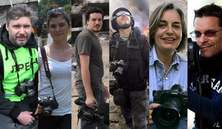 Remember Journalists who died in 2014 http://www.newsweek.com/journalists-who-died-doing-their-jobs-2014-295833