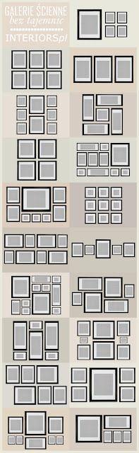 Agencer ses cadres photos / Home & Garden: Savoir décorer ses murs