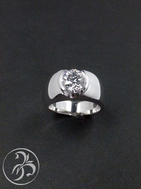 Contemporary Diamond Rings London