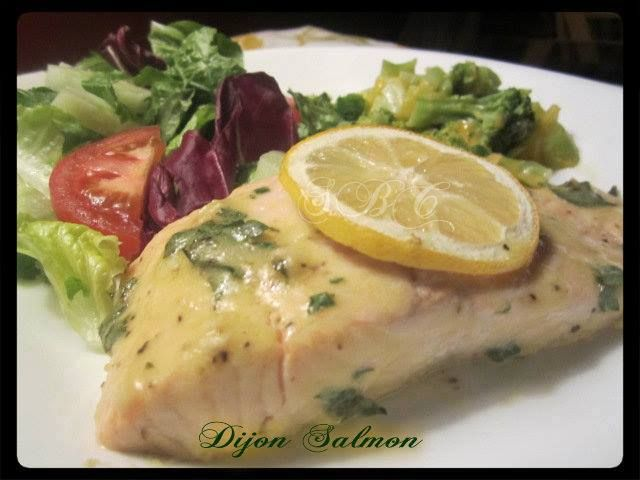 Healthy Dijon Salmon Recipe - DELICIOUS
