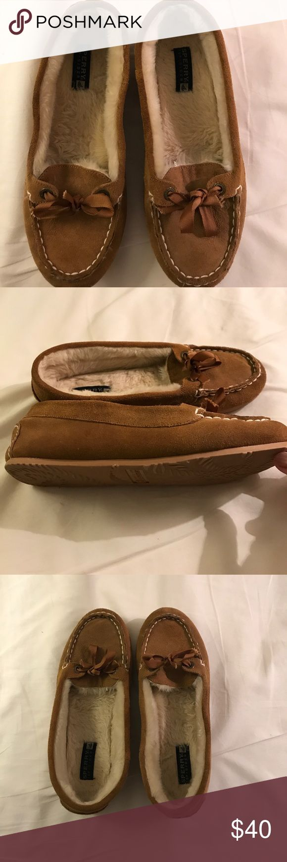 SALE SALE 🌹🌹🌹 Sperry Sperry top sider in barely used condition color mucha Sperry Shoes Moccasins