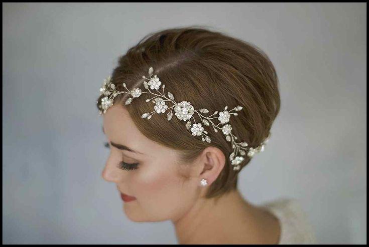 Braut-Haar-Accessoires aus zweiter Hand   Trend Bob Frisuren   Frisuren Tutorial…