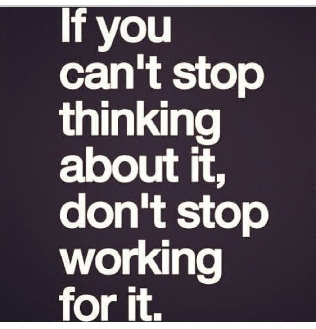 Don't stop..