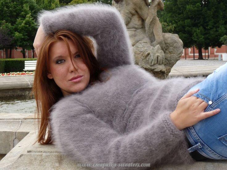 Fetish angora sweater
