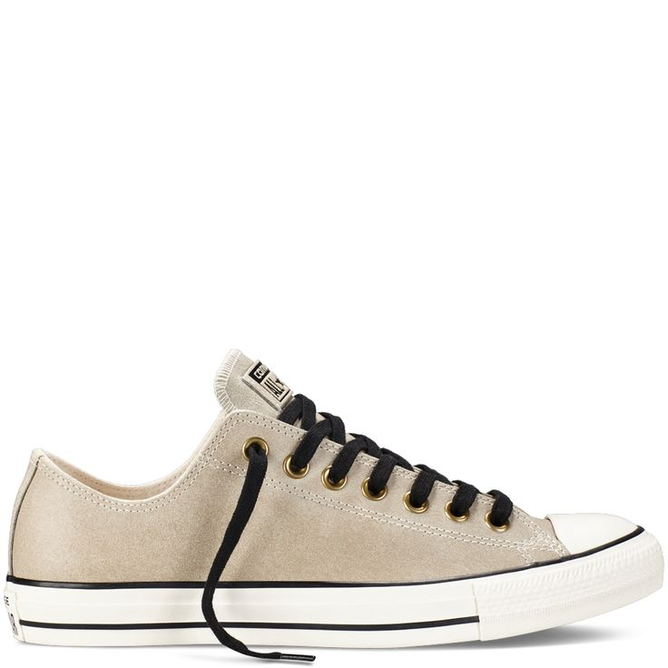 Converse  Chuck Taylor All Star Vintage Leather Parchment  Low Top