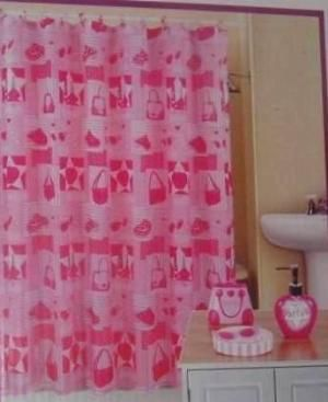 Complete Bathroom Sets Shower Curtain | Complete Princess Design Bath Set W  Shower Curtain | EBay