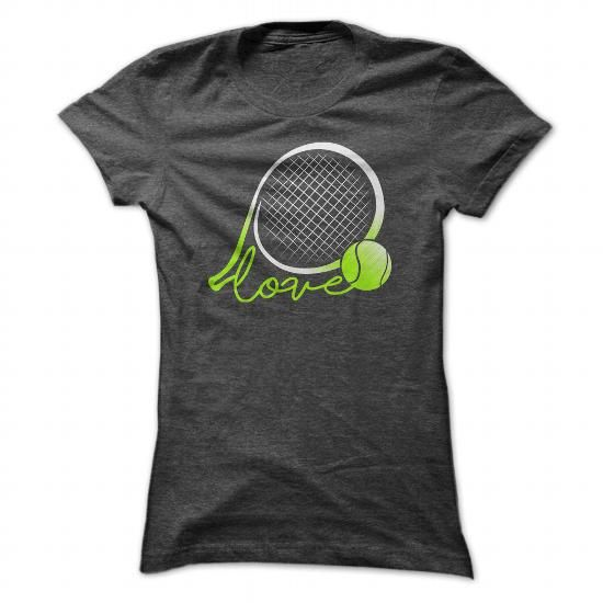 I LOVE TENNIS - Hot Trend T-shirts