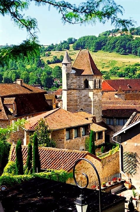 Bucolic village of Figeac - Lot, Quercy, France