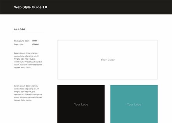 Designer Resource: Free Web Style Guide PSD Template