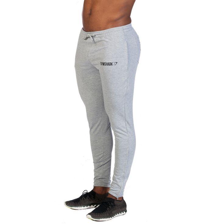 GymShark Fit Tapered Bottoms - Grey All men's wear | GymShark | Innovation In Fitness Wear