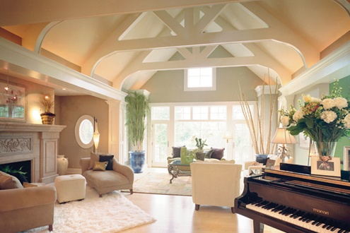Great room via Schumacherhomes.com