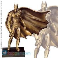 Batman Begins bronzen sculptuur - Koppen.com