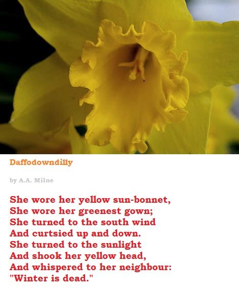 Spring Flower Poems Quotes: Spring, Spring Poem And Poem