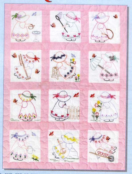 Best vintage embroidery transfer designs quilt