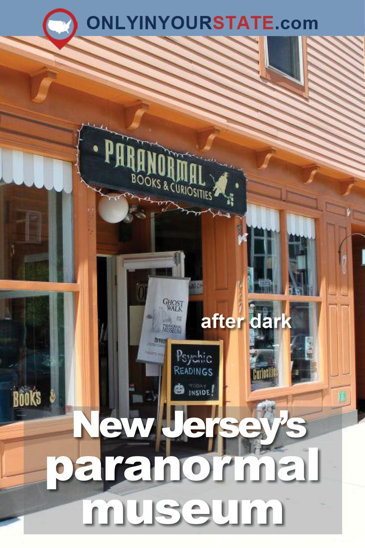 Travel | New Jersey | Museum | Paranormal | Creepy | Scary | Haunted | Attractions
