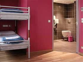 Paris Hostel -shower & hair-dryer) and toilet - reception open 24h/24h - free WIFI - free breakfast - self-service kitchen - free maps and tourist...