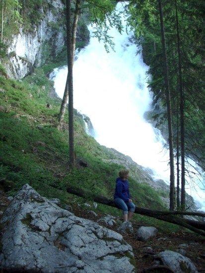 Abkühlende Gischt des Winner-Wasserfalles » Tennengau Magazin