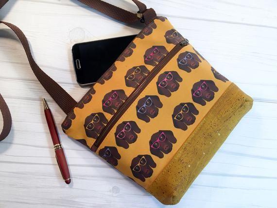 GSP mom shorthair hip bag GSP and coffee fanny pack German shorthair bum bag GSP sling bag