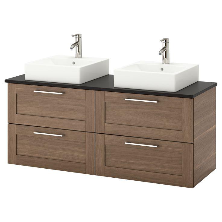 Godmorgon Tolken T 214 Rnviken Bathroom Vanity Walnut