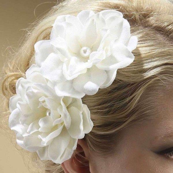 Duo Fleurs coiffure mariage Gardénia - ODAZZ Mariage