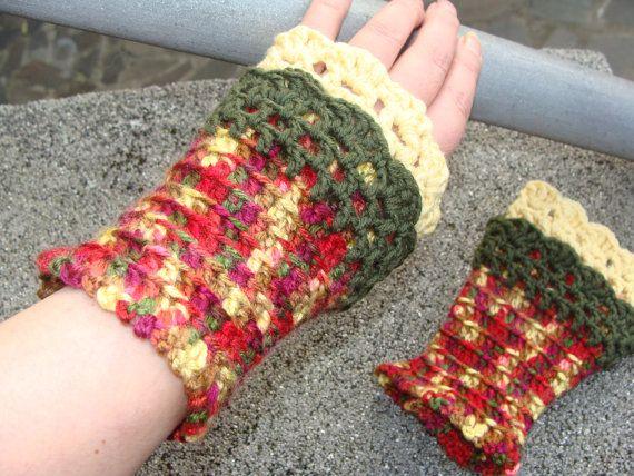Fingerless Gloves, Crochet Gloves, Wrist Warmers, Office Gloves, Armwarmers, Driving Gloves, Fingerless Mittens, Warm Gloves, Bike Gloves