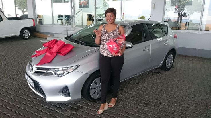#Congratulations to Miss Faith Xulu from #Florida #JHB on her #Toyota #Auris Wishing you many happy miles!   Contact me for all your #new #used #preowned #demo #cars #bakkies #sedans #hatchbacks #SUV #Coupe ALL MAKES AND MODELS! I have over 1,500 cars available in our group!   #Finance available, #best prices for your trade in, I #deliver across SA!   0828858780 aadil.khan@supergrp.com www.deviantdealer.co.za