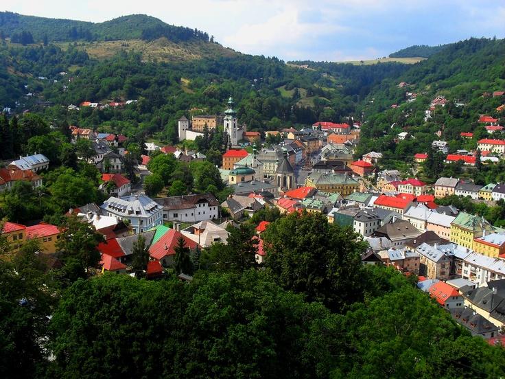 Banska Stiavnica, Slovakia. Proud and mystical.