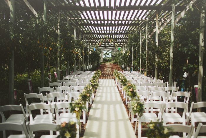 Wedding Venue Saskatoon Farm South Of Calgary White Christmas Lights Hanging Candles Down The Aisle Burlap Runner Pinterest