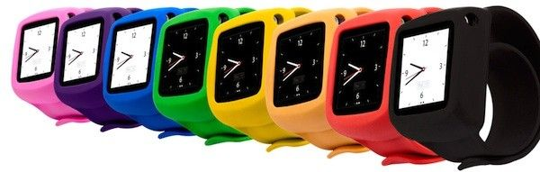 Griffin gets in the iPod nano watch game with colorful, protective Slap wristband -- Engadget