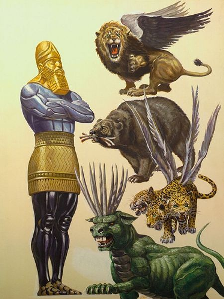 What does the beast from Revelation 13 have to do with Daniel's vision of the statue and the four beasts? Are they one in the same? Join me for part 110 of our Bible Study into the Book of Revelation.