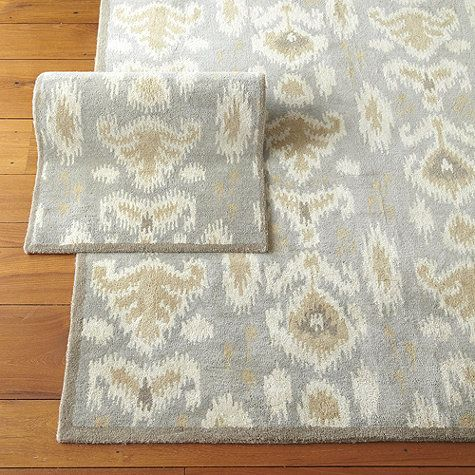 Ballard Designs: Marchesa Rug This was what I texted you about for your living room - even though it's more gray it has the warmer natural in it too and is a more modern print… more fun?? just something to consider...