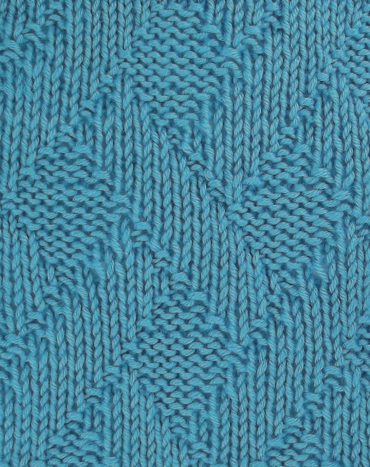 Knitting Stitches Texture : Diagional Basketweave is found in the Textured Stitches category. Knit - St...