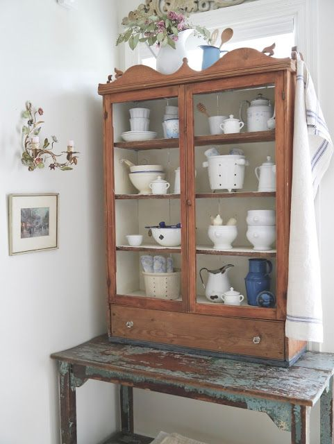 Chateau Chic: Using Collections to Evoke A French Style Decor