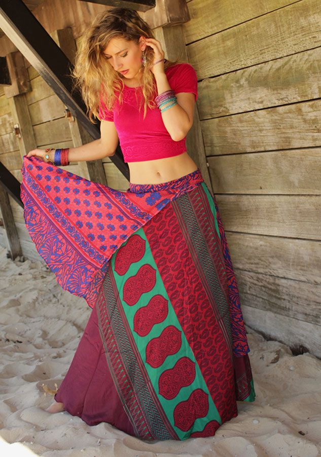 Silk Saree Skirts available at devs.com.au