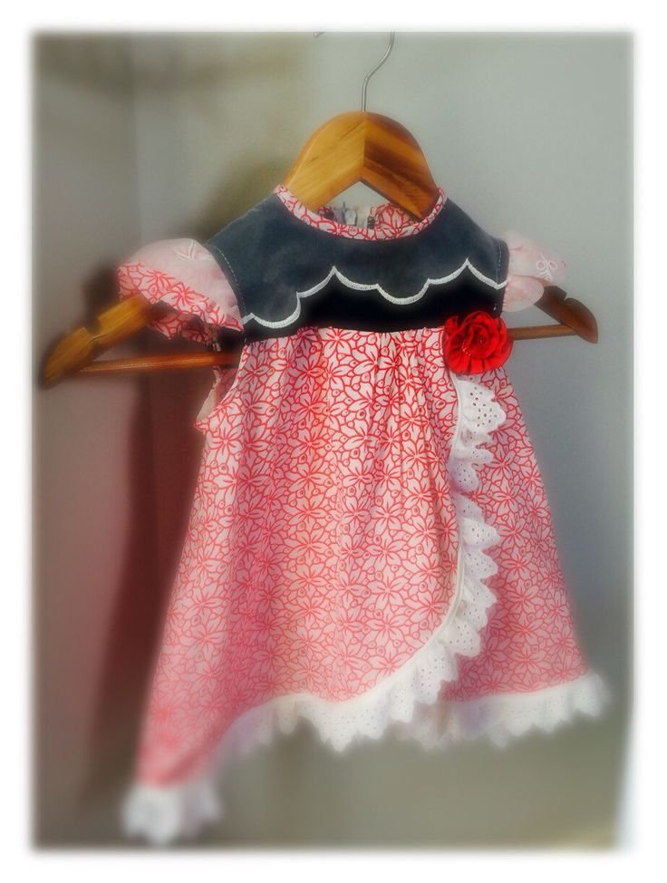 A personal favorite from my Etsy shop https://www.etsy.com/ca/listing/257562750/red-and-white-eyelet-denim-cotton-dress