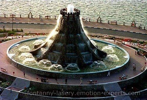 Inna przykład fontanny wodnej