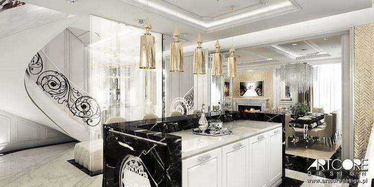 Przepiękne wnętrza w stylu glamour. Kilka cennych rad jak zaprojektować takie wnętrze.
