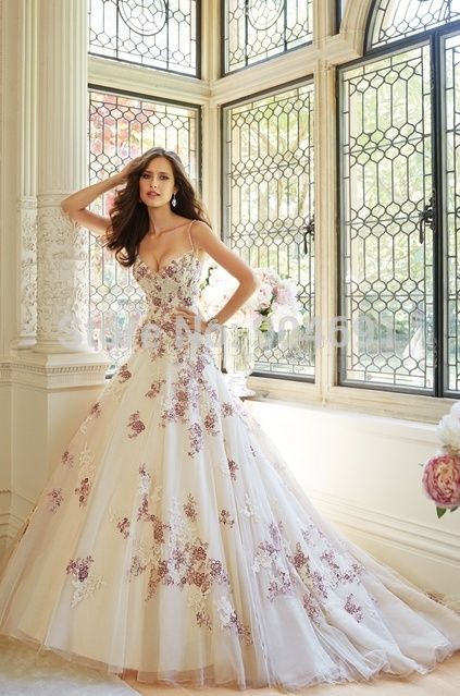 158 best Fancy Wedding Dress images on Pinterest   Short wedding ...