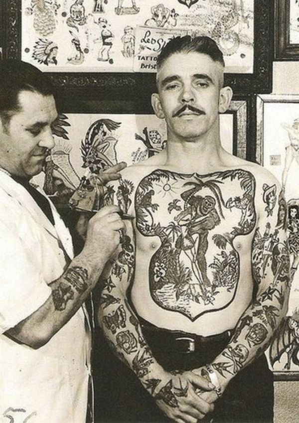 Dark Seas: Sailor Jerry and his influence on traditional sailor tattoo – Loser Machine Company