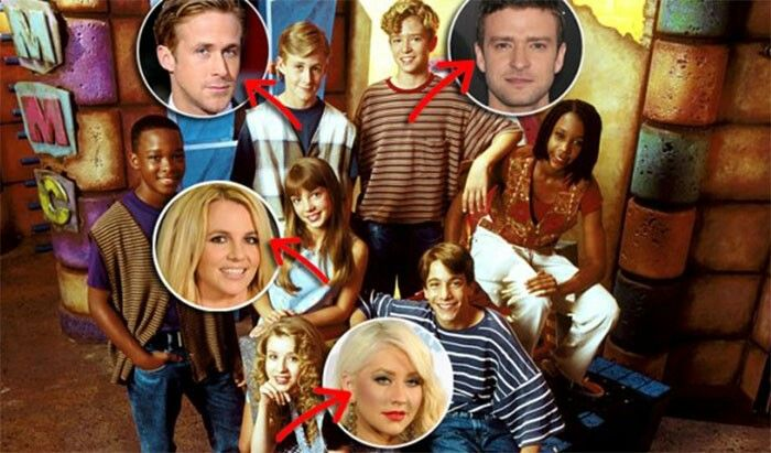 Mickey mouse club: Ryan Gosling, Christina Aguilera ...